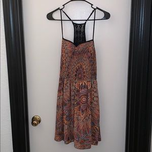 Xhiliration Multi-Color Dress In Size Large
